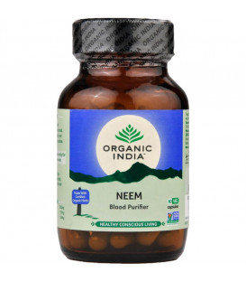 Herbal Antibiotic ( Neem ) Organic India ziołowy antybiotyk