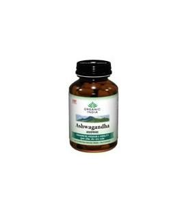 Ashwagandha Organic India 60 kaps x 400mg