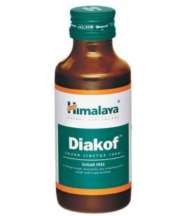 Diakof Syrop Himalaya 100ml - zwalcza suchy kaszel i działa wykrztuśnie