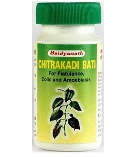 Chitrakadi bati, 40 tabletek, Baidyanath