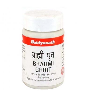 Brahmi Ghrit 100g Baidyanath - Oczyszczające ziołowe masło GHEE z Brahmi