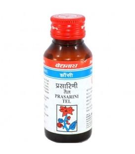 Olejek ziołowy na bóle stawów, Prasarini Tel, 50 ml, Baidyanath