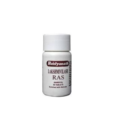 Laxmivilash Ras 40 tabletek Baidyanath przeziebienie i kaszel