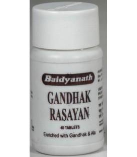 Gandhak Rasayana 40 tabletek Baidyanath skora problemowa