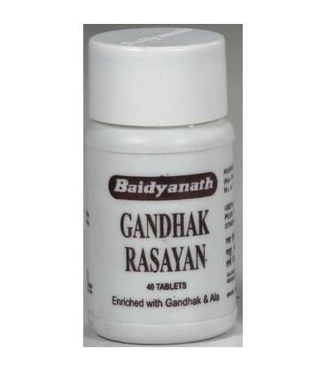 Maha Gandhak Rasayana 40 tabletek Baidyanath