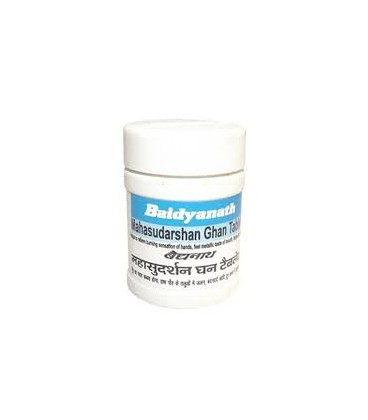 Baidyanath Mahasudarshan Ghan Bati  40 tabletek - problemy z alergią i niską odpornością