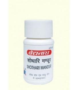 Shothari Mandur 40 tabletek Baidyanath - anemia
