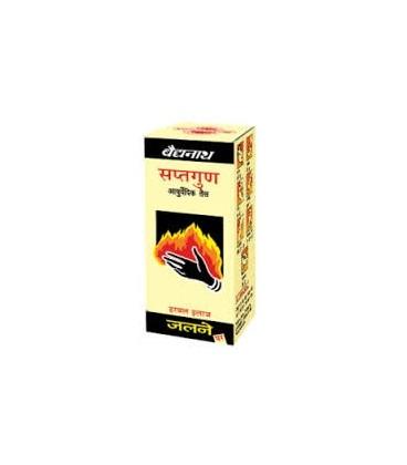 Tail Saptgun 50ml Baidyanath - olejek do masażu przeciwbólowy na stawy