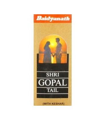 Tail Shri Gopal olejek stworzony dla mężczyzn 50ml Baidyanath - wzmocnienie erekcji