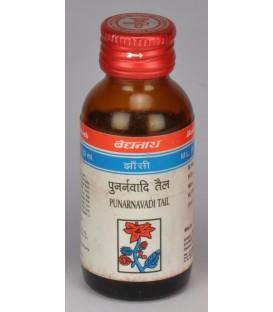 Tail Punarnvadi olejek 50ml Baidyanath - na obrzęki i złą pracę nerek