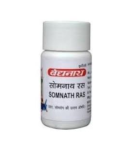 Somanth Ras 80 tabletek Baidyanath - Dla diabetyków