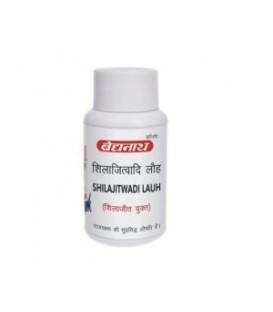 Shilajitwadi Lauh 40 tabletek Baidyanath - anemia, zaburzenia układu moczowego,