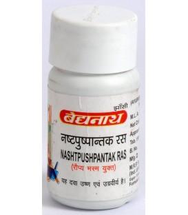 Nashtpushpantak Ras 80 tabletki Baidyanath - bolesne miesiączkowanie