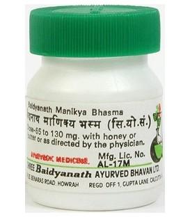 Manikya Ras 5g Baidyanath - tonik dla serca