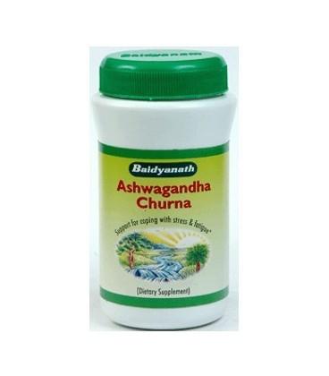 Ashwagandhadi Churan - proszek 50 g Baidyanath - stabilizuje nastrój