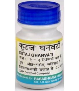 Kutajghan Bati 40 tabletek Baidyanath - zapalenie dwunastnicy