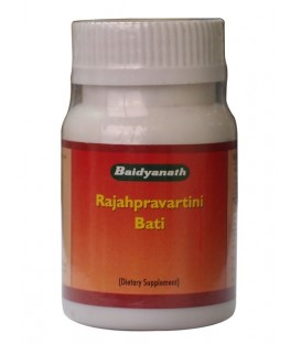 Rajahpravartini bati kapsułki 80 tabletek Baidyanath