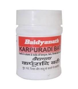Karpuradi Bati 40 tabletek Baidyanath - zapalenie dziąseł