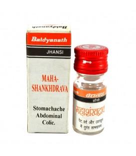 Maha Shankhravya - krople 10 ml Baidyanath - niestrawność i wzdęcia