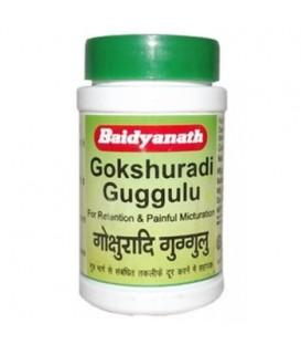 Gokshuradi Guggulu, 80 tabletek, Baidyanath - układ moczowy i cholesterol