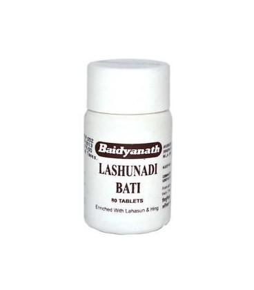 Lashunadi Bati 80 tabletek Baidyanath - dnia moczanowa, reumatyzm, artretyzm