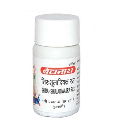 Shirshuladi Vajra Tab 40 tabletek Baidyanath - ból głowy i migrena