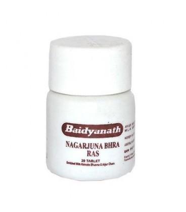 Nagarjuna bhra Ras 20 tabletek Baidyanath (Zamiast Arjuny na serce)