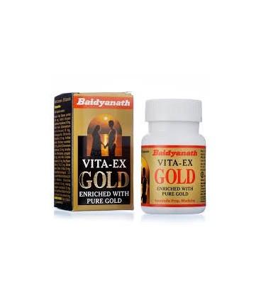 Vita-ex Gold 20 tabletek Baidyanath - dodaje wigoru i stymuluje seksualnie