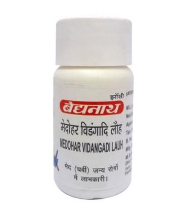 Medohar Vidangadi Lauh 40 tabletek Baidyanath - zrzuć kilogramy!
