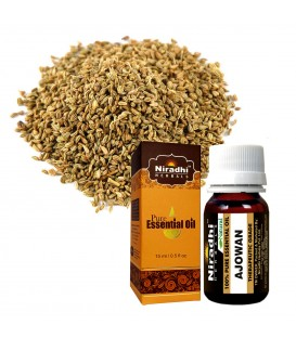 Olejek eteryczny AJOWAN 15ml Niradhi Herbals