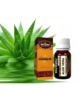 Olejek eteryczny czysty 100% ALOESOWY 15ml Niradhi Herbals