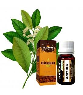 Olejek eteryczny AMYRIS (Amyris balsamifera) 15ml Niradhi Herbals