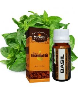Olejek eteryczny BAZYLIOWY 15ml Niradhi Herbals