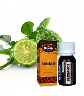 Olejek eteryczny czysty 100% BERGAMOTKA 15ml Niradhi Herbals