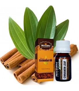 Olejek eteryczny czysty 100% CYNAMON 15ml Niradhi Herbals