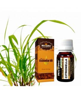 Olejek eteryczny czysty 100% CITRONELLA 15ml Niradhi Herbals