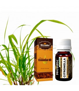 Olejek eteryczny CITRONELLA 30ml Niradhi Herbals