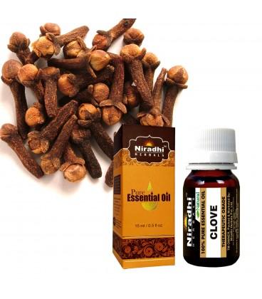 Olejek eteryczny czysty 100% GOŻDZIKOWY 15ml Niradhi Herbals