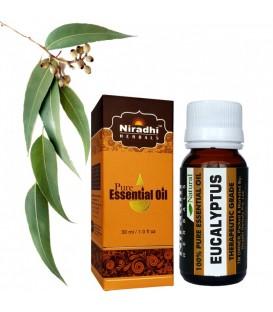 Olejek eteryczny czysty 100% EUKALIPTUS 15ml Niradhi Herbals