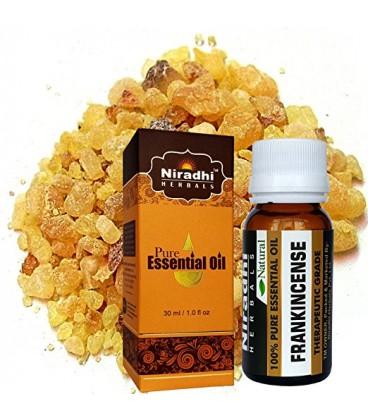 Olejek eteryczny 100% Kadzidłowy FRANKINCENSE 15ml Niradhi Herbals (Boswelia)