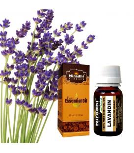Olejek eteryczny czysty 100% LAWENDINA Lavandula hybrida 15ml Niradhi Herbals
