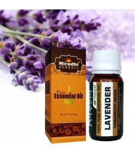 Olejek eteryczny czysty 100% LAWENDA 15ml Niradhi Herbals