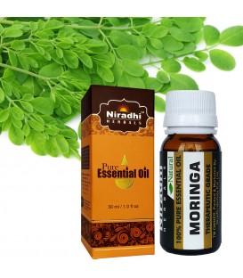 Olejek eteryczny czysty 100% MORINGA 15ml Niradhi Herbals