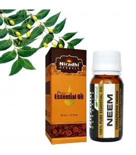 Olejek eteryczny czysty 100% NEEM Miodla Indyjska 120ml Niradhi Herbals