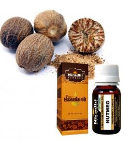 Olejek eteryczny czysty 100% MUSZKATOŁOWIEC 15ml Niradhi Herbals