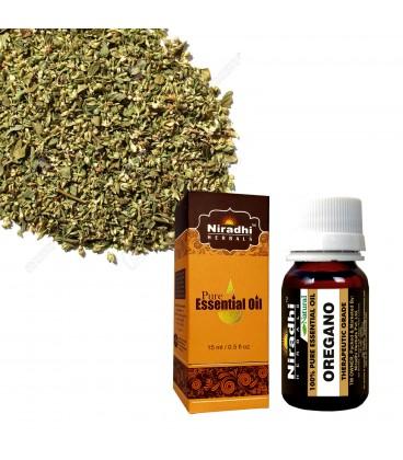 Olejek eteryczny czysty 100% OREGANO 120ml Niradhi Herbals