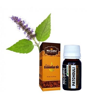 Olejek eteryczny czysty 100% paczulowy PATCHOULI 30ml Niradhi Herbals