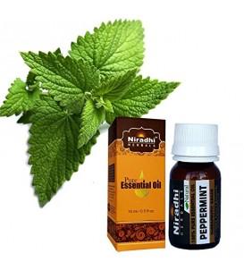 Olejek eteryczny czysty 100% MIĘTA PIEPRZOWA 15ml Niradhi Herbals