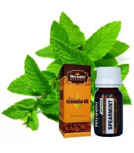 Olejek eteryczny czysty 100% MIĘTA ZIELONA 15ml Niradhi Herbals