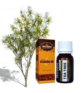 Olejek eteryczny czysty 100% DRZEWO HERBACIANE 15ml Niradhi Herbals